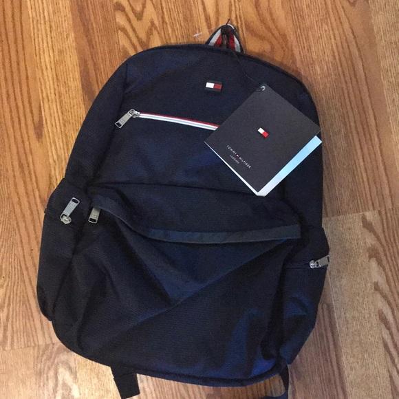 d3c59fa4da Tommy Hilfiger Bags | Nwt Backpack Flag Logo Navy | Poshmark